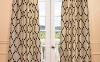 Add pizzazz to your home with decorative drapes.