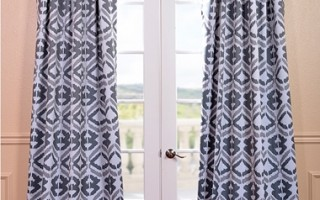 Blackout curtains help lull you to sleep.