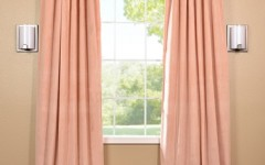Blackout drapes like this will darken your room and look nice.