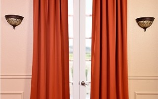 Did you know that we have a number of blackout drapes in other fabrics than velvet?