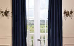 Drapes like these help to keep your dorm room comfortable and look stylish too!