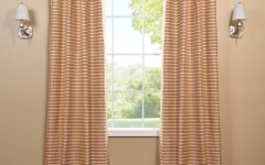Drapes like this are great for a breakfast bar.