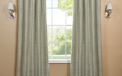 Drapes like this can make for an excellent privacy partition.