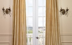 "Follow the ""golden ratio'"" of decorating with luxurious silk drapes."