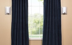 Keep cool with lovely patterned blackout drapes.
