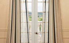 Sheer drapes can brighten up your home design scheme!