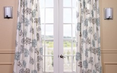 Summery drapes will brighten a room as your home decor transitions with the seasons.