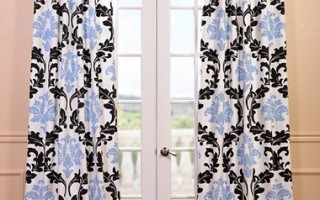 The Deuville pattern is playful and sophisticated - perfect for a freshman dorm.