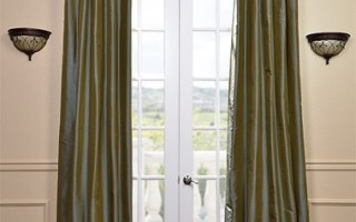 The right drapes can help cover up flaws in your home.