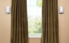 These blackout drapes can help to insulate the noise in your house.