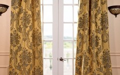 "These drapes should help to keep someone from calling your home decor ""precious"""