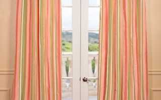 These pastel curtains are perfect for Easter!