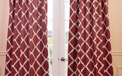 Try decorating your home with a fun pattern curtain this fall!