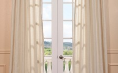 Use light and airy curtains to let sunlight into your bedroom.