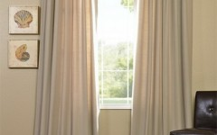 Vacuum your drapes to get rid of dust this spring.