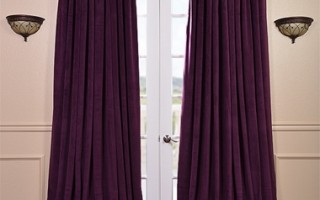 Velvet drapes can help retain heat in your home.