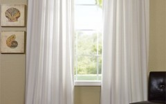 White cotton drapes like this are ideal for this DIY project.