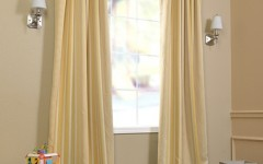 Yellow drapes are perfect for spring and summer.