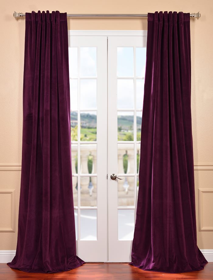 How To Care For Velvet Curtains Half, Best Way To Clean Velvet Curtains
